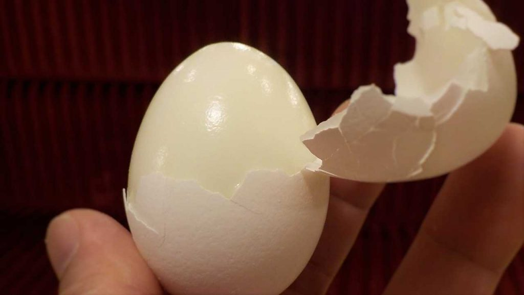 Hard boiled eggs for weight loss